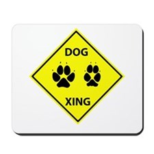 Dog Crossing Mousepad