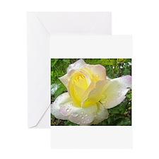 Cute Rose musical Greeting Card