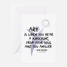 Art and Soul Greeting Cards (Pk of 10)