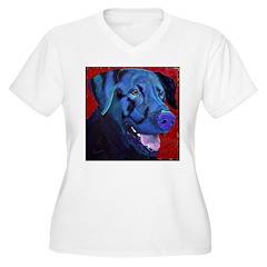Black Lab Too T-Shirt