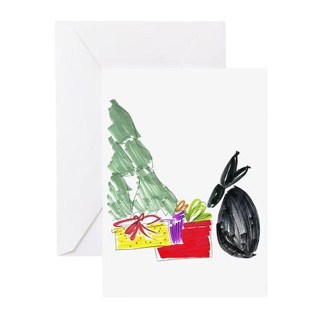 Christmas006 Greeting Cards (Pk of 20)