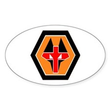 WOLVES Oval Decal