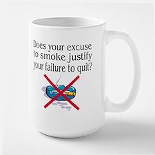 Excuse to Smoke Large Mug