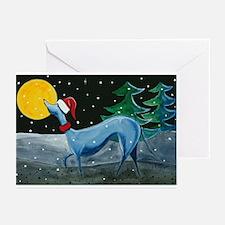 Greyhound, Italian Greyhound, Greeting Cards (Pk o
