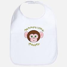 Mummy's Little Monkey Bib
