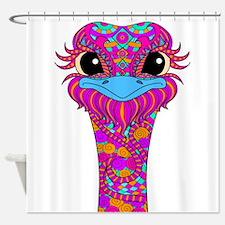 Crazy Bird Shower Curtain