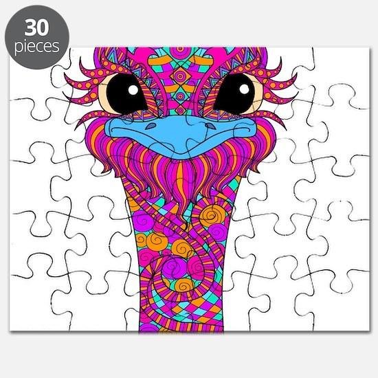 Crazy Bird Puzzle
