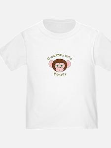 Grandma's Little Monkey T