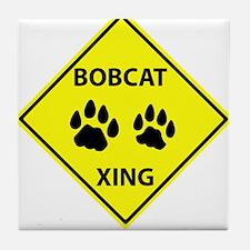 Bobcat Crossing Tile Coaster
