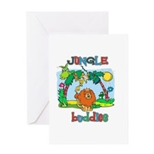 Jungle buddies Greeting Card