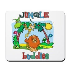 Jungle buddies Mousepad