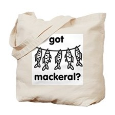 Mackeral Tote Bag