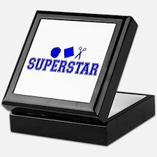 Rock Paper Scissors Superstar Keepsake Box