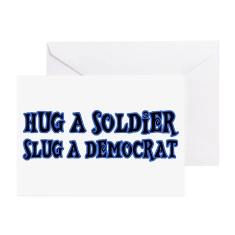 Funny Patriotic T-shirts Greeting Cards (Pk of 10)