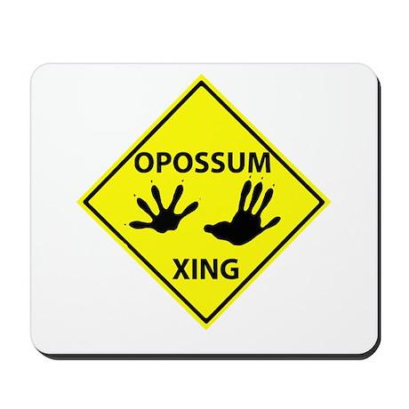 Opossum Crossing Mousepad