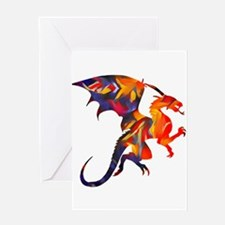 Fire Dragon Greeting Cards