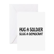 Funny Anti-Democrat T-shirts Greeting Card