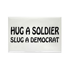 Funny Anti-Democrat T-shirts Rectangle Magnet (10