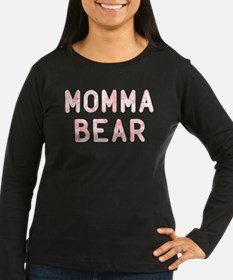 Momma Bear Pink T-Shirt