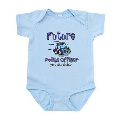 Future Policeman just like Dad Infant Bodysuit