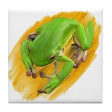 FROGS GALORE Tile Coaster