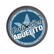 World's Best Abuelito Wall Clock