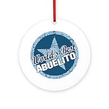 World's Best Abuelito Ornament (Round)