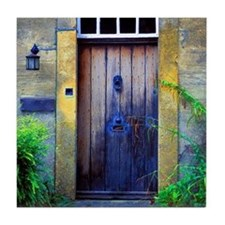 Provence Door Tile Coaster