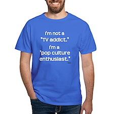Steve the Penguin - TV Addict T-Shirt (Royal Blue)