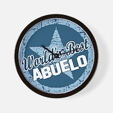 World's Best Abuelo Wall Clock