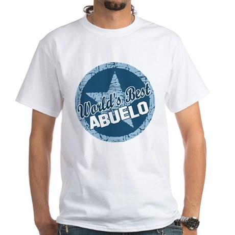 World's Best Abuelo White T-Shirt