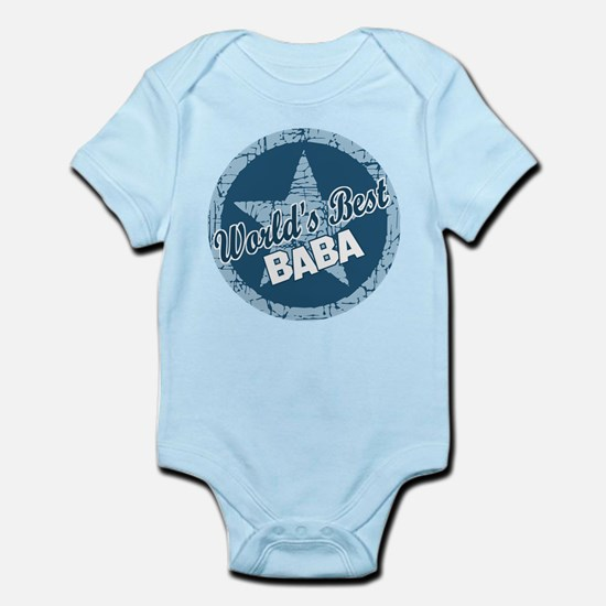Worlds Best Baba Infant Bodysuit