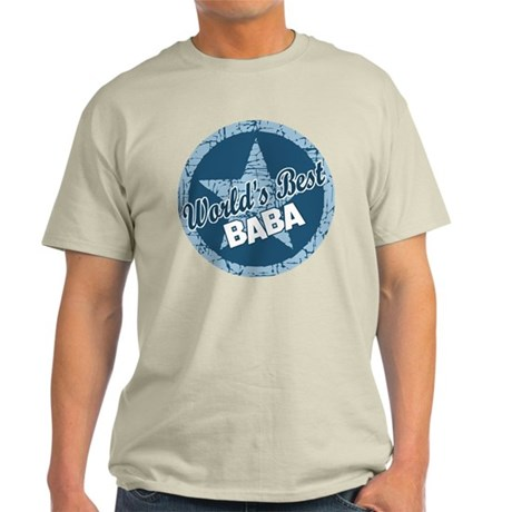 Worlds Best Baba Light T-Shirt