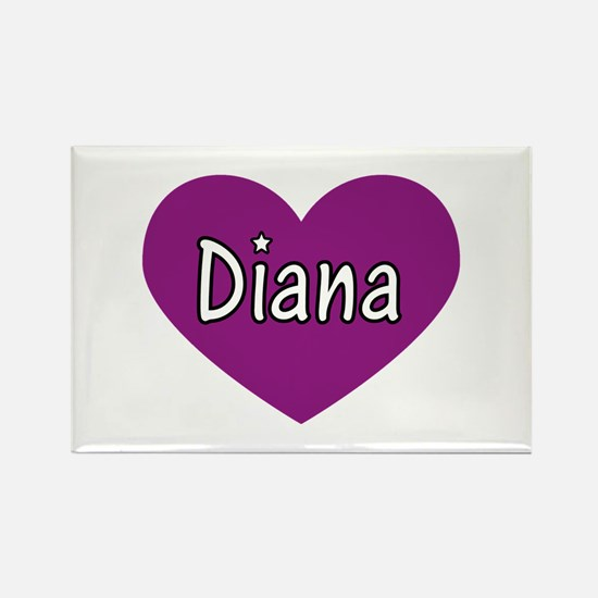 Diana Rectangle Magnet