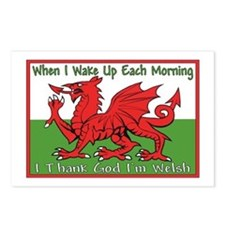 ...T.G.I Welsh... Postcards (Package of 8)