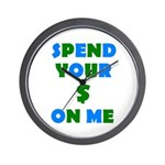 Spend your $ Wall Clock