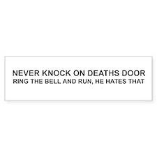 Deaths Door Bumper Bumper Sticker