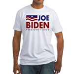 Biden: President 08 Fitted USA T-Shirt