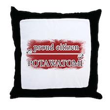 Citizen Potawatomi Throw Pillow