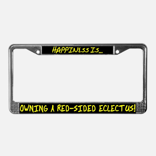 HI Owning Red-Sided Eclectus License Plate Frame