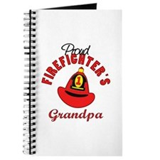 Proud Firefighter's Grandpa Journal