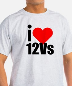 I heart 12vs T-Shirt