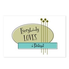 Everybody Loves a Paralegal Postcards (Package of