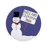 Snowman for Clinton '08 3.5
