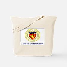 Attleboro MA Flag Tote Bag