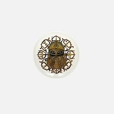 Viking & Vegvisir Mini Button (10 pack)