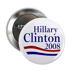 Hillary Clinton 2008 2.25 Inch Button