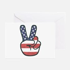 Peace Hand Greeting Cards (Pk of 10)