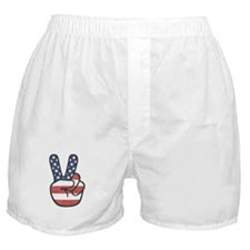 Peace Hand Boxer Shorts