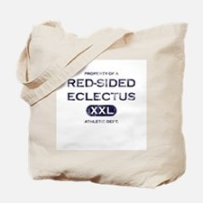 Property of Red-Sided Eclectus Tote Bag